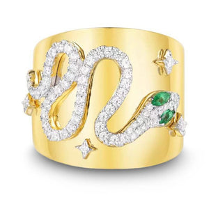 Bague Serpent Or 18 Carats