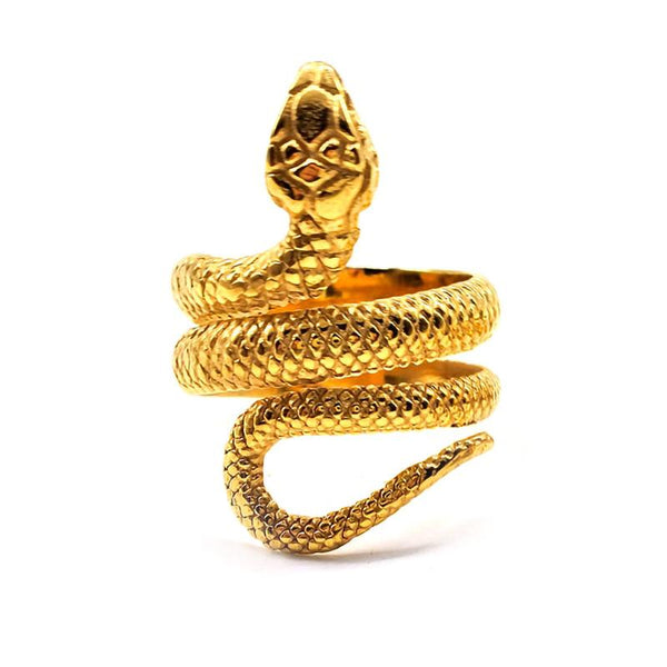 bague Homme Or Serpent