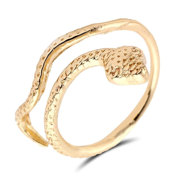 Bague style serpent
