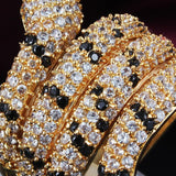 Bague Serpent strass