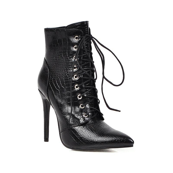 Bottines Ecailles
