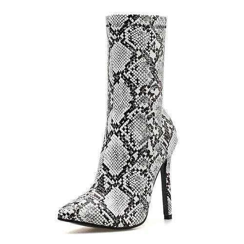 Bottines Motif Serpent
