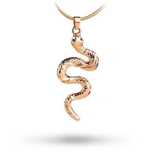 collier petit serpent