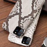 coque apple peau de serpent