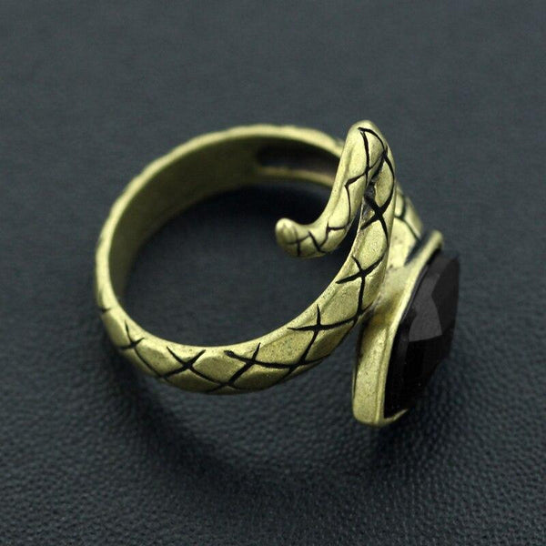 Bague laiton Serpent