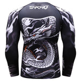 Tee-Shirt Compressor Dragon Serpent