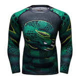 Tee-Shirt de Sport Serpent Mamba Compression