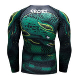 T-Shirt de Sport Serpent Compressor