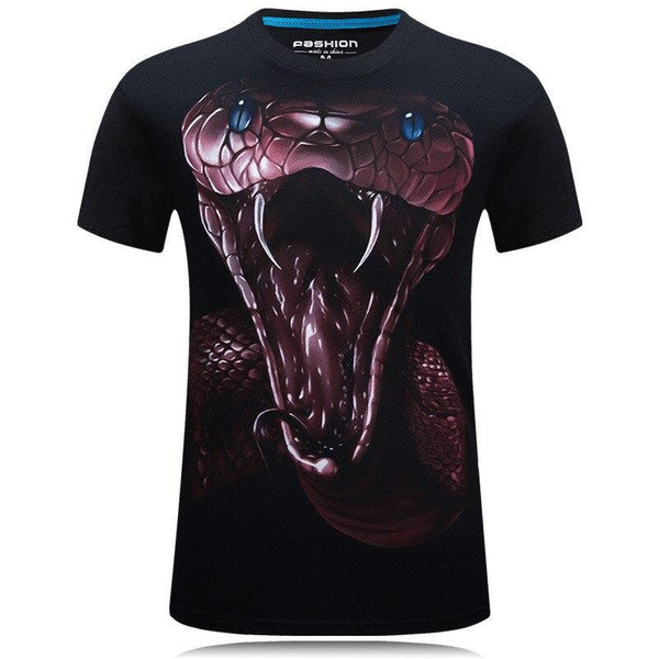 T-Shirt Serpent Morsure