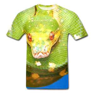 t shirt image de serpent 3d