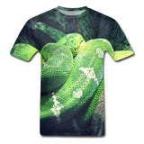 t shirt gros serpent