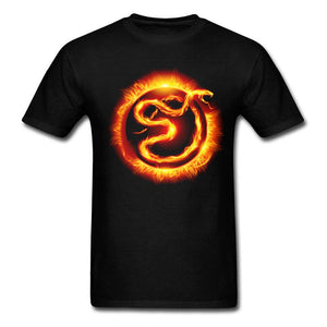 t shirt flammes