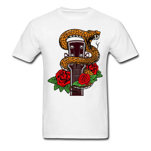 t shirt guitarre