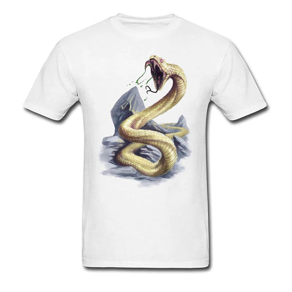 T-Shirt serpent homme