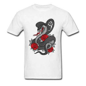 T shirt roses rouges