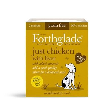 Forthglade Just Chicken/Liver 395g