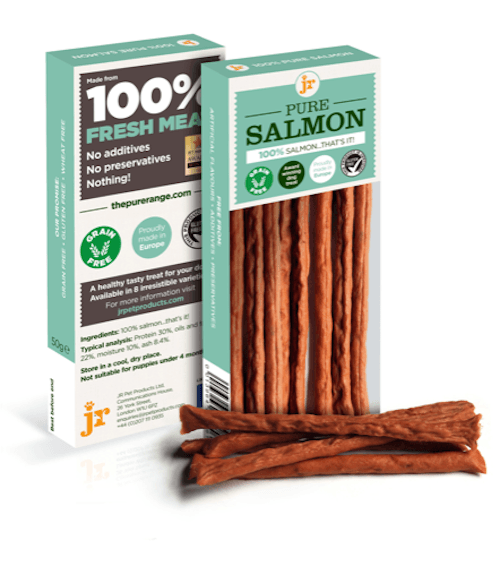 Pure Salmon Sticks 50g Dog Treats JR Pet Products