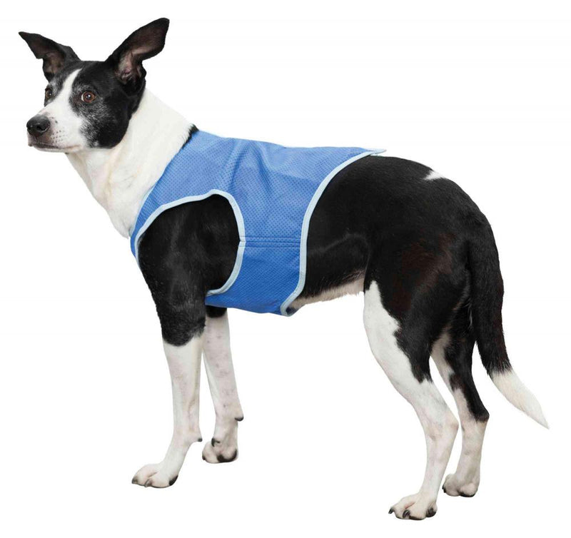 Trixie Cooling Vest PVA S:25cm Blue Coats/Clothing Trixie