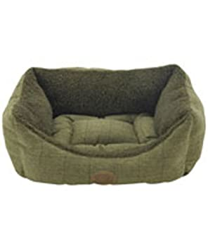 "36"" Cambridge Tweed Rectangle Bed Dog Beds Snug & Cosy"