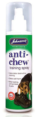 Anti Chew Training Spray Dog Treatments Johnsons