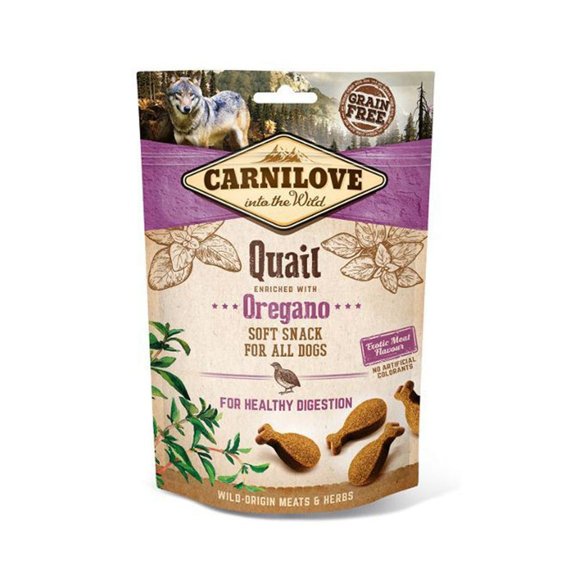 Carnilove Quail/Oregano Treats 200g Dog Treats Carnilove