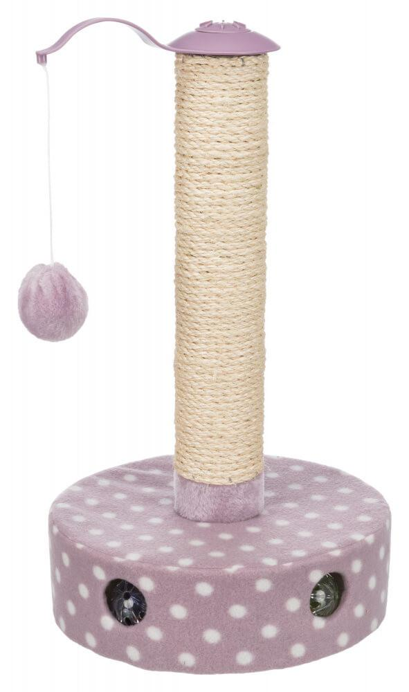 Trixie Junior Scratching Post 47cm Lilac Cat Scratches Trixie