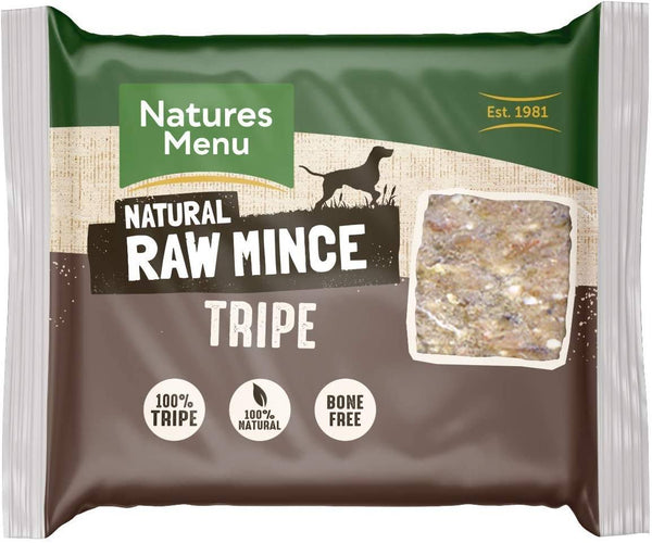 NM Tripe Block 400g Raw Dog Food Natures Menu