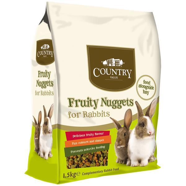 CV Fruity Value Nuggets 1.5k Rabbit Country Value