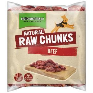 NM Beef Chunks 1kg Dog Food Natures Menu