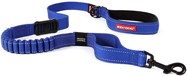 Zeroshock Leash 48 Inch Blue Ezy Dog EzyDog