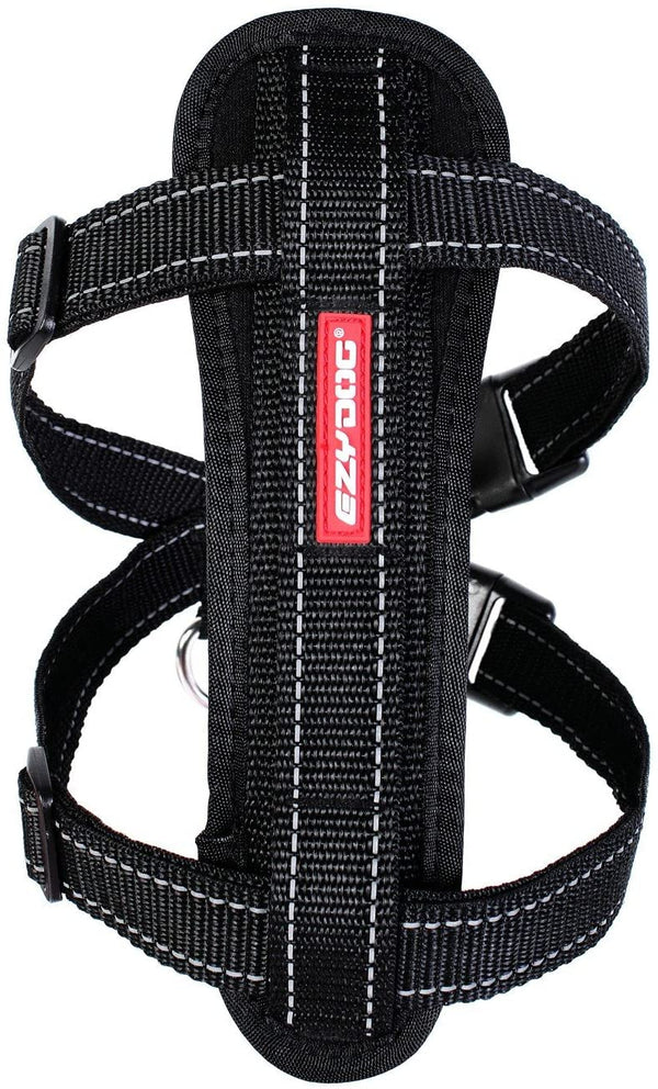 Ezydog Harness Black Small Ezy Dog EzyDog