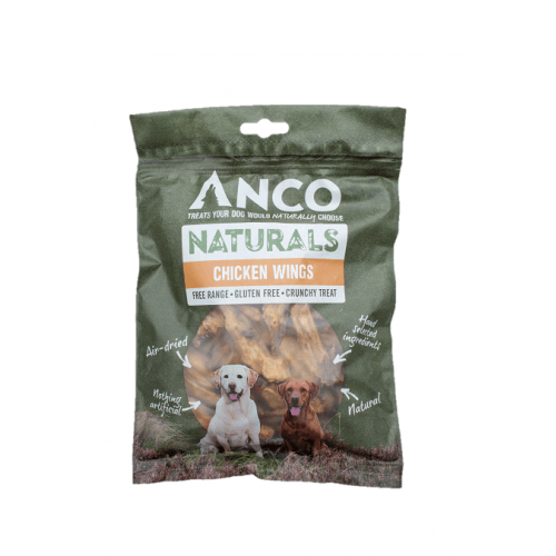 Anco Naturals Chicken Wings Dog Treats Anco