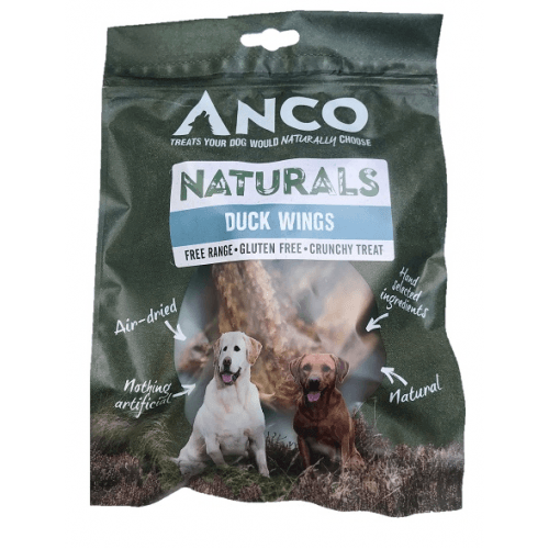 Anco Naturals Duck Wings Dog Treats Anco