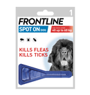 Frontline Single Dose XL Dog Dog Treatments Frontline