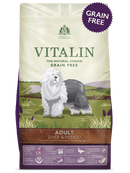 Vitalin Adult Duck 2kg Dry Dog Food Vitalin