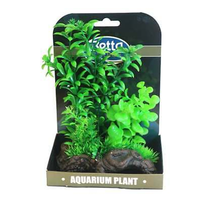 Betta Choice Mini Air Gardens Green Plastic Plants Betta