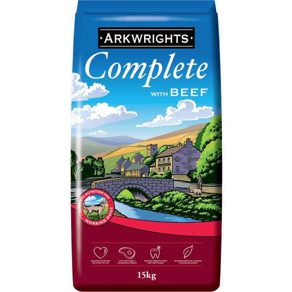 Arkwrights Beef 15kg Bulk Dog Food Arkwrights