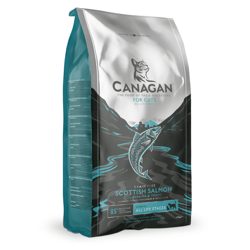 Canagan Scottish Salmon for Cats 1.5kg Dry Cat Food Canagan