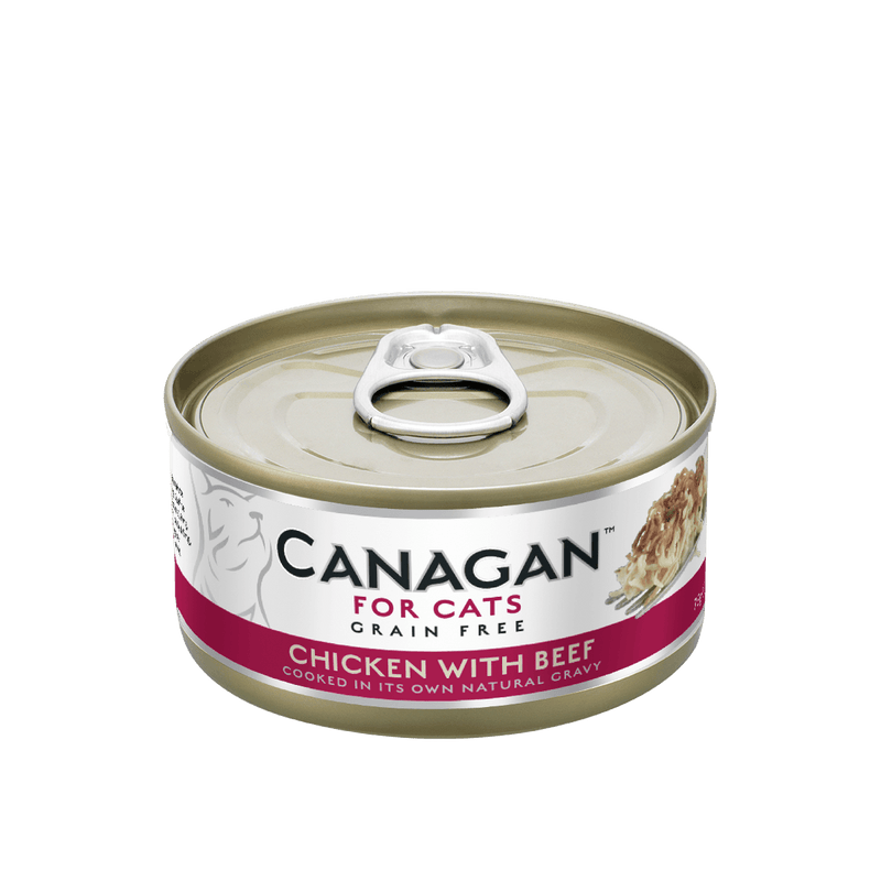 Canagan Cat Can Chicken/Beef 75g Wet Cat Food Canagan