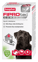 Fiprotec Combo Large Dog x3 Pipette Dog Treatments Beaphar