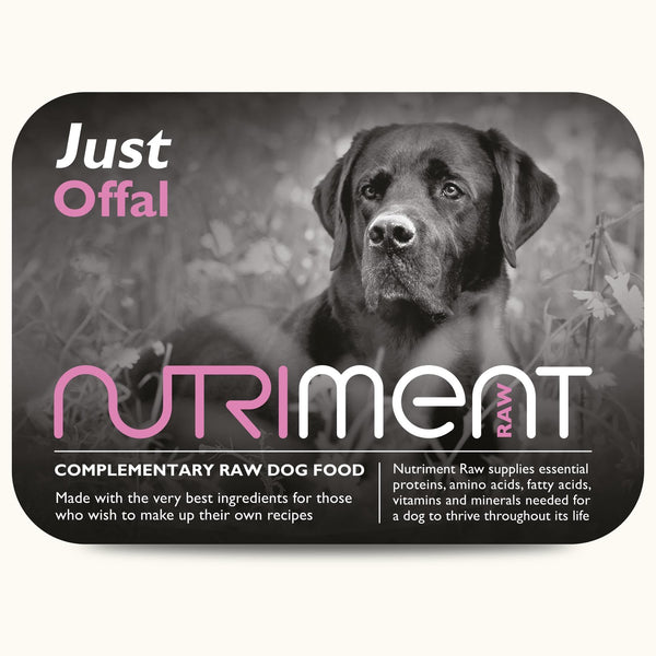 Nutriment Just Offal 500g Raw Dog Food Nutriment