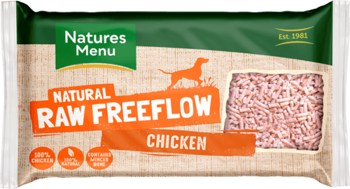 NM Freeflow Chicken Mince 2kg Raw Dog Food Natures Menu