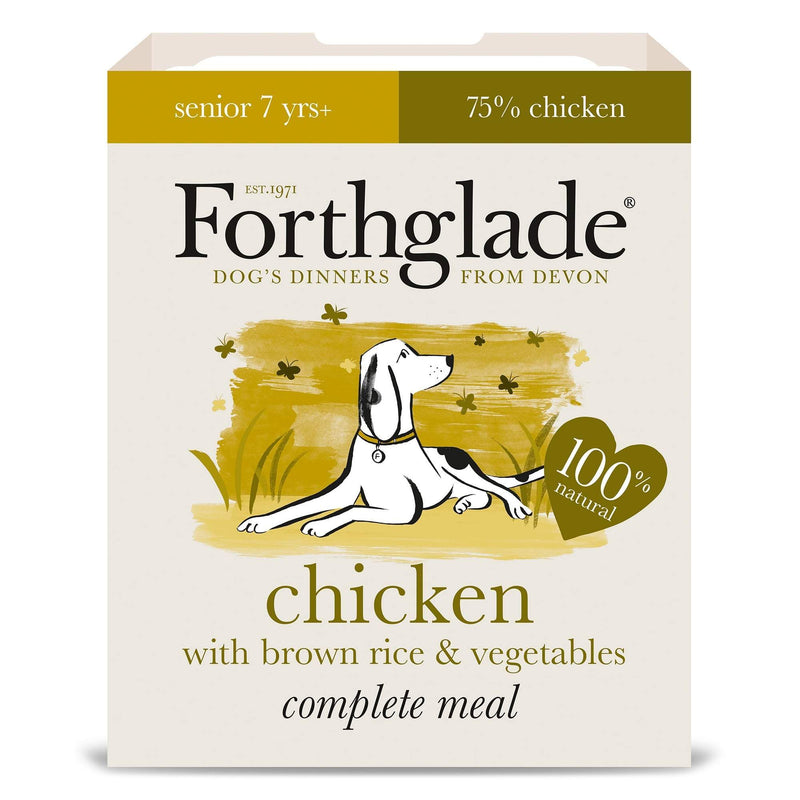Forthglade Senior Chicken/BR/Veg 395g Wet Dog Food Forthglade