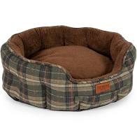 Ancol Heritage Check Bed 60cm Dog Beds Ancol
