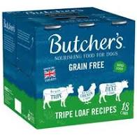 Butchers Tripe Loaf 18 Pack Wet Dog Food Butchers
