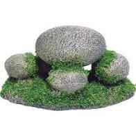 Pebbles with Moss Ornament