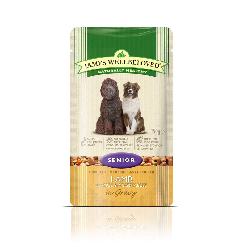 James Wellbeloved Senior Lamb & Rice 150g Wet Dog Food James Wellbeloved