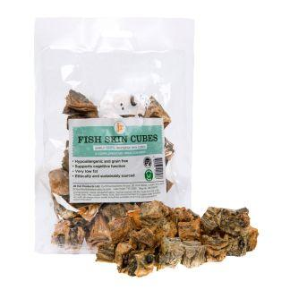 Natural Fish Skin Cubes 75g Dog Treats JR Pet Products
