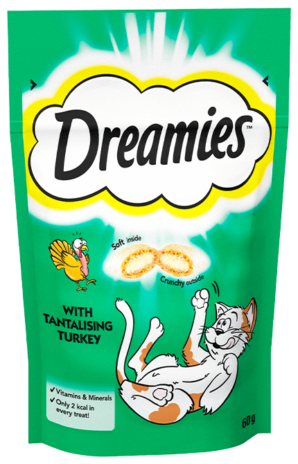 Dreamies Turkey Cat Treats Dreamies