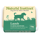 Natural Instinct 1KG Natural Lamb